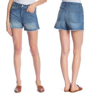 Madewell Perfect Jean Short in Butler Wash